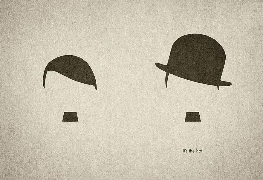 в шапката е