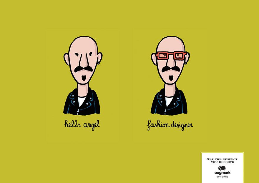 реклама на оптика за очила