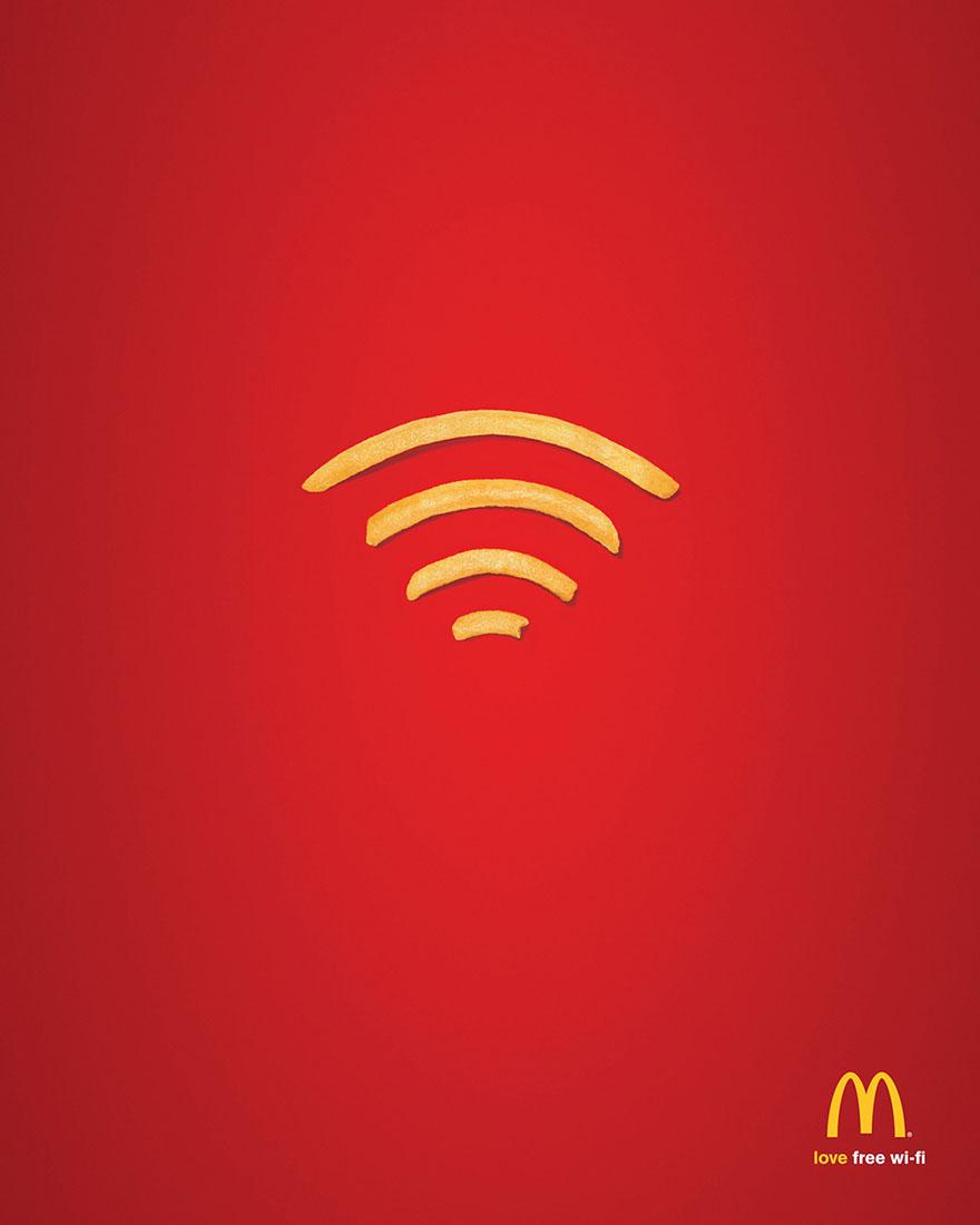 реклама на макдоналдс